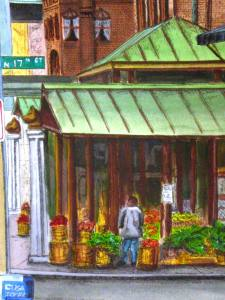 Farmers market (detail)