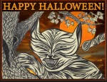 My original art used for some Halloween fun! InDesign, Photoshop
