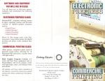 3-Panel Brochure (FRONT) - InDesign, Illustrator & Photoshop